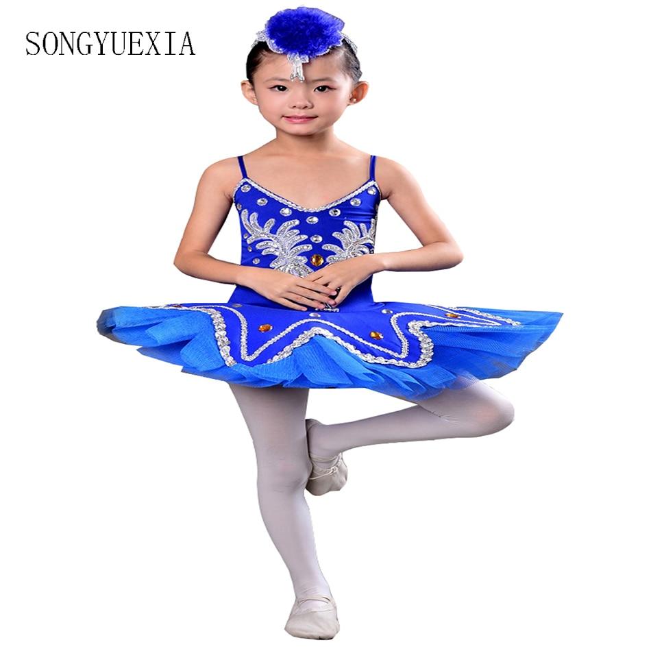 Children S Ballet Tutu Dress Skirt Little Swan Dance Skirt Princess Skirt Girls Costume Martial Arts