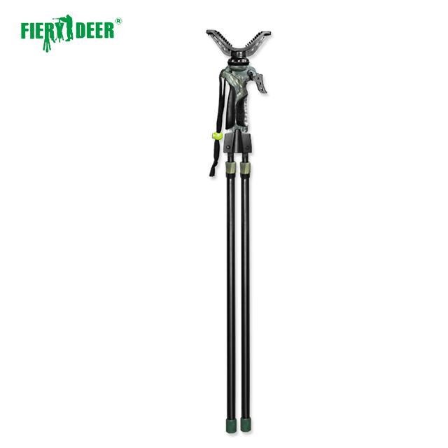 Prohibit selling to GERMANY/Quick stick ADJUSTABLE RIFLE REST BIPOD160 CM HUNTING SHOOTING STALKING DX-003-01GEN3