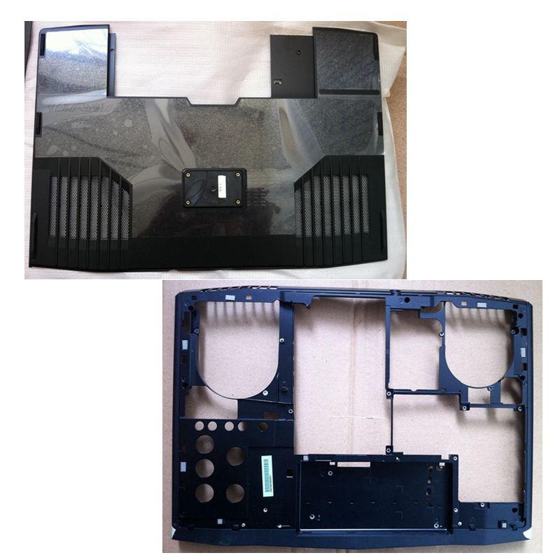 """Gzeele New For Dell Alienware M17x R3 R4 Series 17.3"""" Laptop Bottom Base Case Lower Cover Bottom Door Access Panel R59n5 0r59n5 Delicacies Loved By All"""