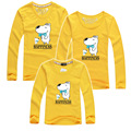 Fashion Family Matching Outfits Clothes Kids T-Shirt Cotton Long Sleeve Family Look Father And Mother and Daughter T-shirt