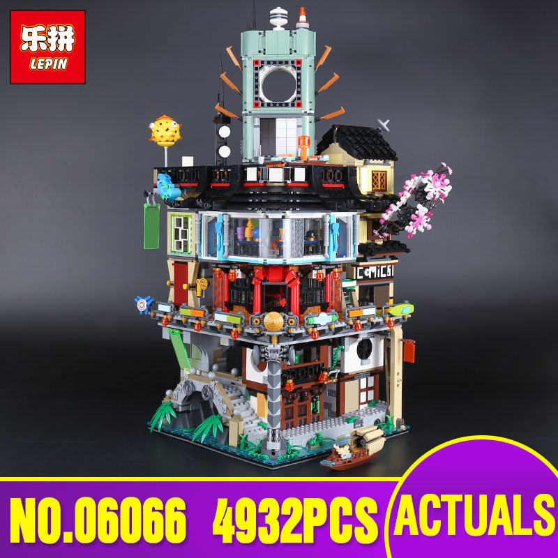 Lepin 06066 NEW City Series 4953pcs Construction Model Modular Building Blocks Teenagers Toys Bricks Compatible 70620 as Gifts new lp2k series contactor lp2k06015 lp2k06015md lp2 k06015md 220v dc