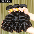 Cheap Hot 7A Brazilian Virgin Hair Aunty Bouncy Jerry Curl Remy Human Hair Extension Clean Soft And Luster  Wigs 1pc/Lot  LY08