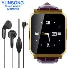 W90 smart watch con cámara smartwatch podómetro rastreador de fitness sport reloj de pulsera para android dispositivos portátiles pk gt08 dz09 q18