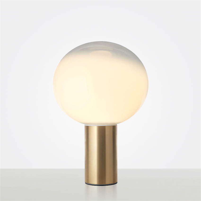 Postmodern Smoky 3D Moon Lamp - Lamps & Lighting