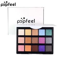 дешево!  15 Цветов Косметический Матовый Shimmer Тени для Век Крем-Палитра для Макияжа Highlighter Shimmer Se