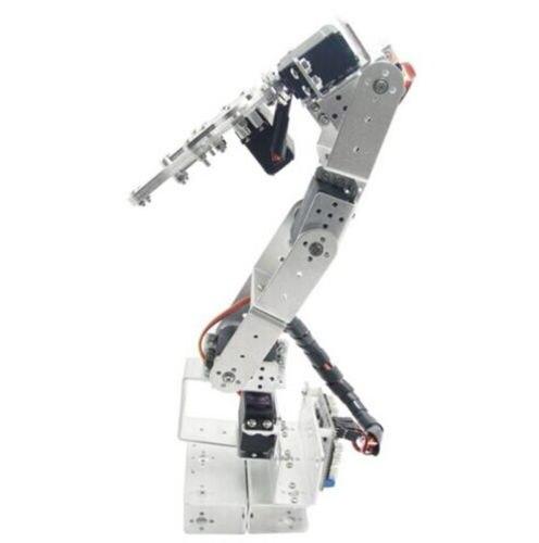ROT3U 6DOF Aluminium Robot Arm Mechanical Robotic Clamp Claw  Black цены онлайн