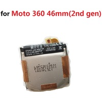3.8V Battery for Motorola Moto 360 42mm 46mm (2nd gen) Sport Watch Li Polymer Polymer Rechargeable Accumulator Replacement+Track