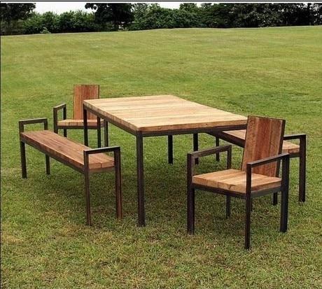 paese americano in ferro battuto tavoli e sedie mobili da giardino ...
