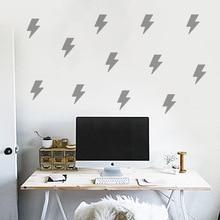 Lightning Wall Sticker For Kids Room Baby Boy Decal Stickers DIY Children Home Decor Living Mural