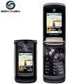 """Motorola razr2 v9 original abrió el teléfono celular 2.2 """"3g 2.0mp gsm wcdma teléfono móvil del tirón del envío libre"""
