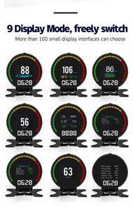 Image 4 - جهاز عرض P15 HUD للسيارة مزود برأس علوي 2.8 بوصة جهاز قياس رقمي ذكي للسيارة مزود بشاشة عرض HUD جهاز إنذار للسرعة الزائدة