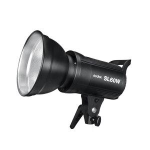 Image 3 - 2x Godox SL 60W 60Ws 5600K Studio LED lumière vidéo Photo continue + 2x1.8 m pied de lumière + 2x60x90 cm Softbox kit déclairage LED