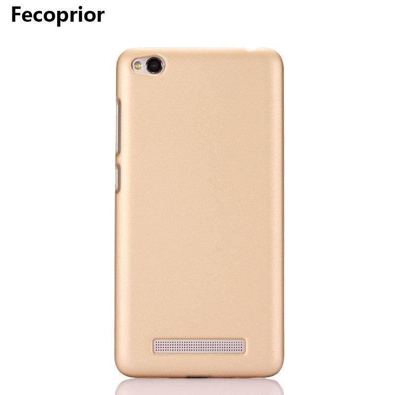 Fecoprior RM4A Redmi4A Жесткий PC матовый чехол для <font><b>Xiaomi</b></font> <font><b>Redmi</b></font> <font><b>4A</b></font> xaomi задняя крышка Панцири щит смартфон Fundas Coque celulars