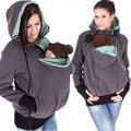 Детские мать Кенгуру осенью и зимой женская одежда modelsThree-в-одном многофункциональный мать Кенгуру свитер модели