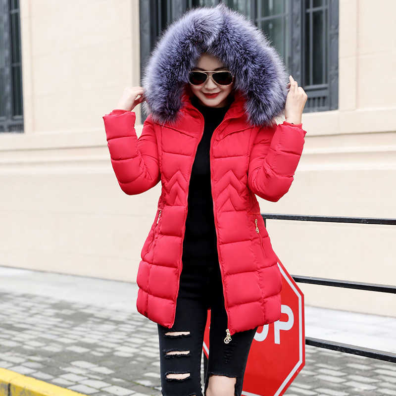ea87040e52f ... Winter Jacket Women Plus size 2018 New Ukraine 6XL Womens Down Cotton  Thicker jackets Hooded Winter ...