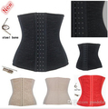 S-6XL Plus Size Steel Bone Girdle Waist Cincher Top Waist Slimming Corsets Underbust Belt Body Control Shapers for Women 5372