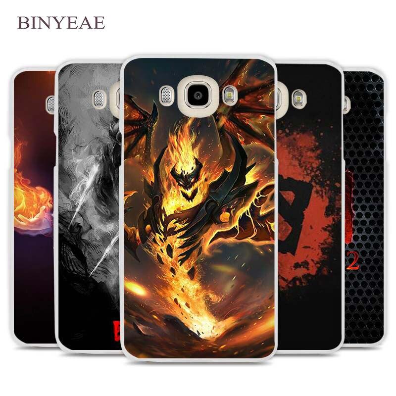 BINYEAE dota 2 logo Cell Phone Case Cover for Samsung Galaxy J1 J2 J3 J5 J7 C5 C7 C9 E5 E7 2016 2017 Prime