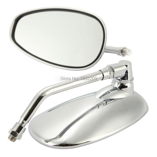 US $21 41 14% OFF|Aliexpress com : Buy MOTORCYCLE CHROME 10mm REARVIEW  MIRRORS SIDE MIRROR FOR SUZUKI MOTORCYCLE BOULEVARD M109R CRUISER FREE  SHIPPING