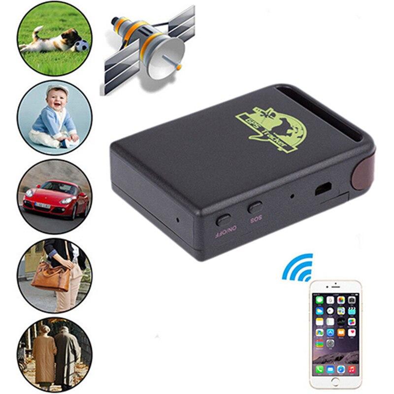 Nueva llegada Mini vehículo GSM GPRS GPS coche o vehículo de seguimiento dispositivo localizador TK102B traceur gps chien