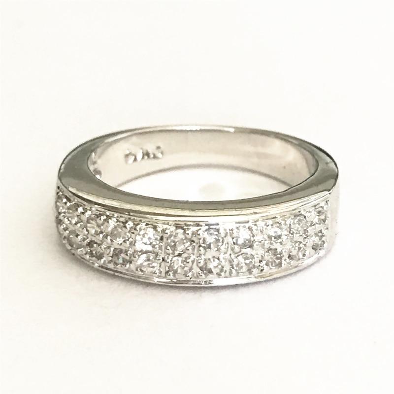 Beautiful ring simple shinning rings women\'s gift ALW1683-in Rings ...