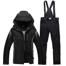Men and font b Women b font Couples clothing Outdoor snowboard ski jacket and pants skiing