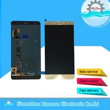 """M & Sen Für 5,7 """"Asus Zenfone 3 Deluxe ZS570KL Z016D Lcd display + Touch panel digitizer gold/blau kostenloser versand"""