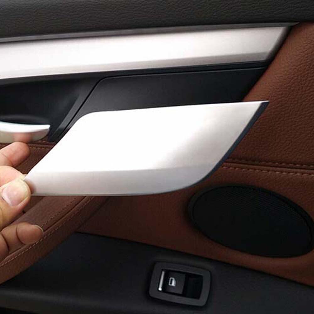 Accesorios interiores para BMW X6 X5 F15 F16 puerta interior de bloqueo de seguridad seguridad cubierta