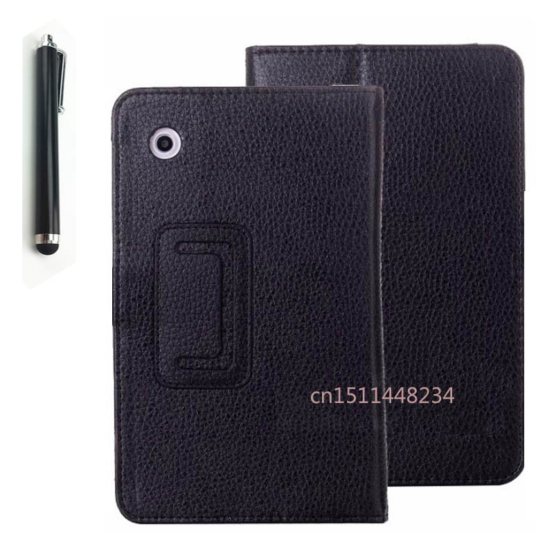1PC Hot selling 2017 New! A3300 fashion Magnetic Folio PU Leather Cover Case For Lenovo A7-30 A3300 7.0 Inch Tablet +Stylus