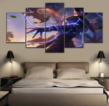 HD Print Wall Art 5 Pieces APEX Game Modern Decorative Home Decor Boys Bedroom Painting Modular Poster Frame Artwork