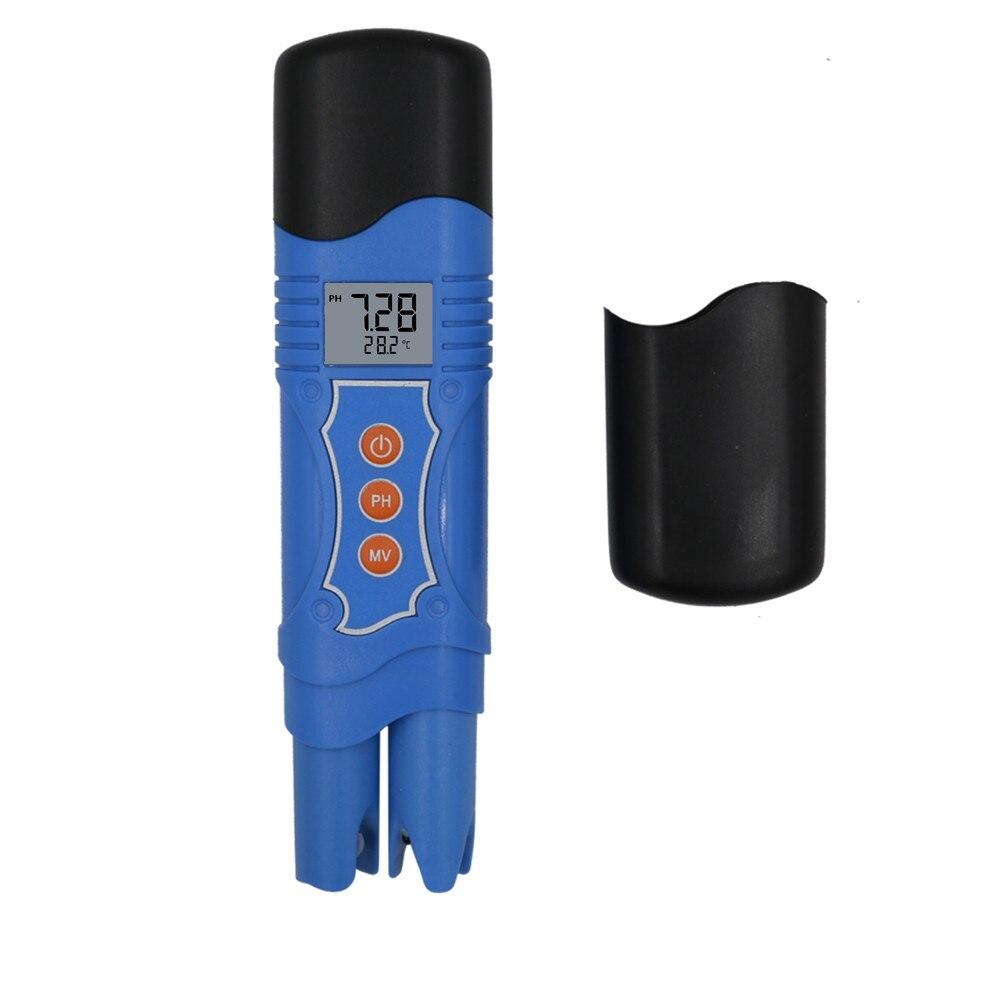 Alta Precisão de Temperatura Ph ORP PH-099 À Prova D' Água 0-14.00/1999mV/-50 ~ 70C 3 Em 1 Metro ATC Tester de Redução de Oxidação 40% Off