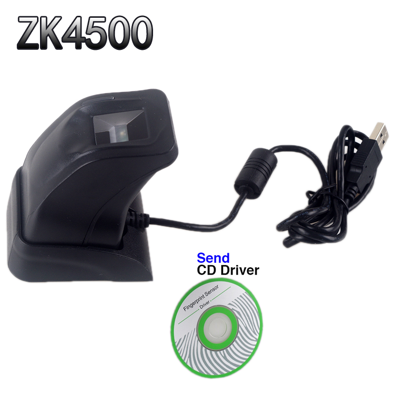 Fingerprint Scanner With Retail Box ZK4500 USB Fingerprint Reader Sensor For Computer PC Home/Office Free SDK Capturing Reader