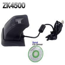 Сканер отпечатков пальцев с коробку ZK4500 usb-считыватель отпечатков пальцев Сенсор для компьютера PC дома/офиса Бесплатная SDK захвата читатель