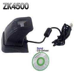 Scanner di impronte digitali Con La Scatola Al Minuto ZK4500 USB Lettore di Impronte Digitali Sensore per Computer PC Home/Ufficio SDK Gratuito Cattura Reader