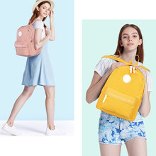Mixi 2019 New Preppy Style Backpack Women School Bags For Teenagers Large Capacity Man College Student Shoulder Bag(China)