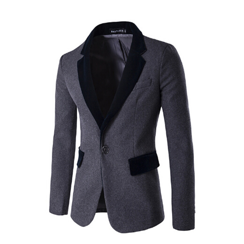 Online Get Cheap Black Velvet Blazer Jacket -Aliexpress.com ...