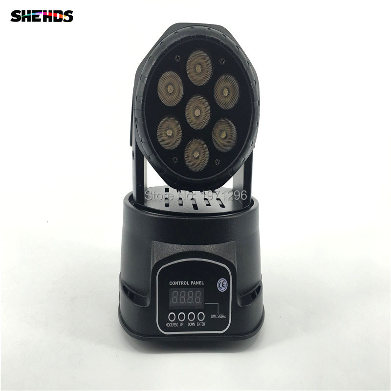 4pcs/lot Free&Fast Shipping hot sale LED moving head mini wash 7x12w rgbw quad with advanced 10/15 channels chandelier