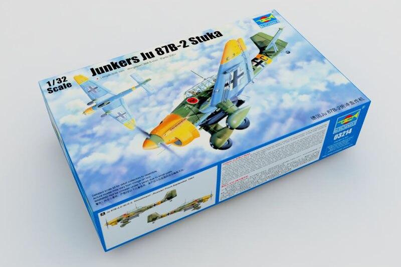 Trumpeter 03214 1/32 Junkers Ju-87B-2 Stuka
