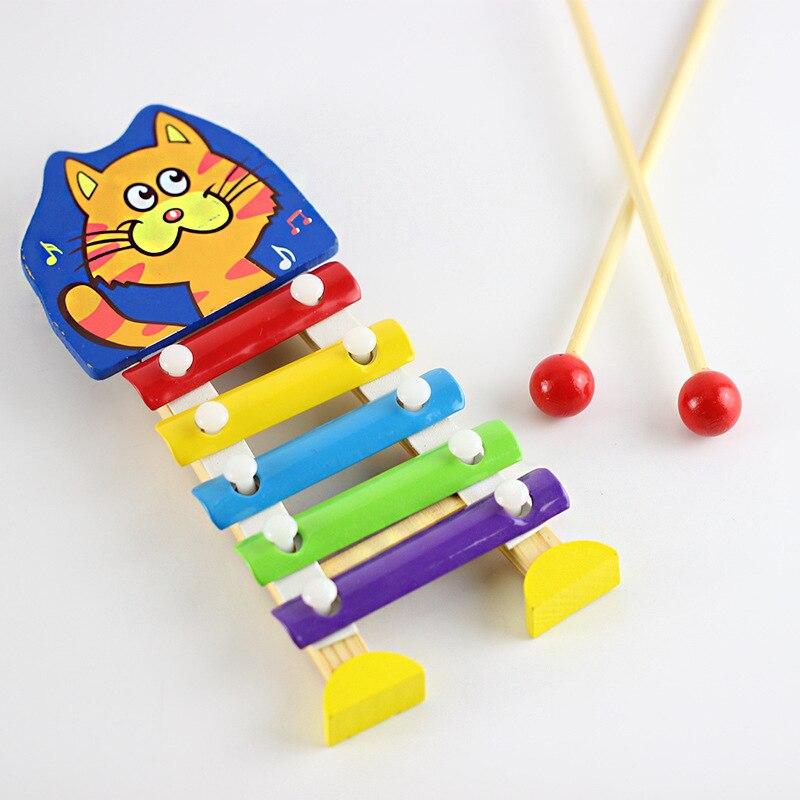 Beducht Baby Montessori Kleurrijke Ladybird Model Xylofoon Musical Kids Toy Gift Vroege Onderwijs Wijsheid Development Speelgoed Voor Kinderen Hot Maar Toch Niet Vulgair