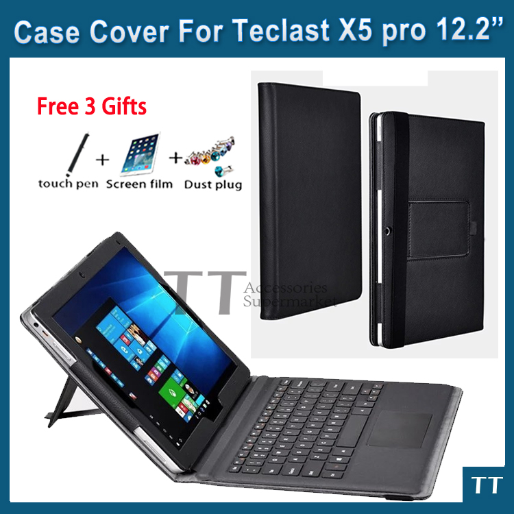 For Teclast X5 pro case Newest High quality PU Leather Case For Teclast X5pro 12.2