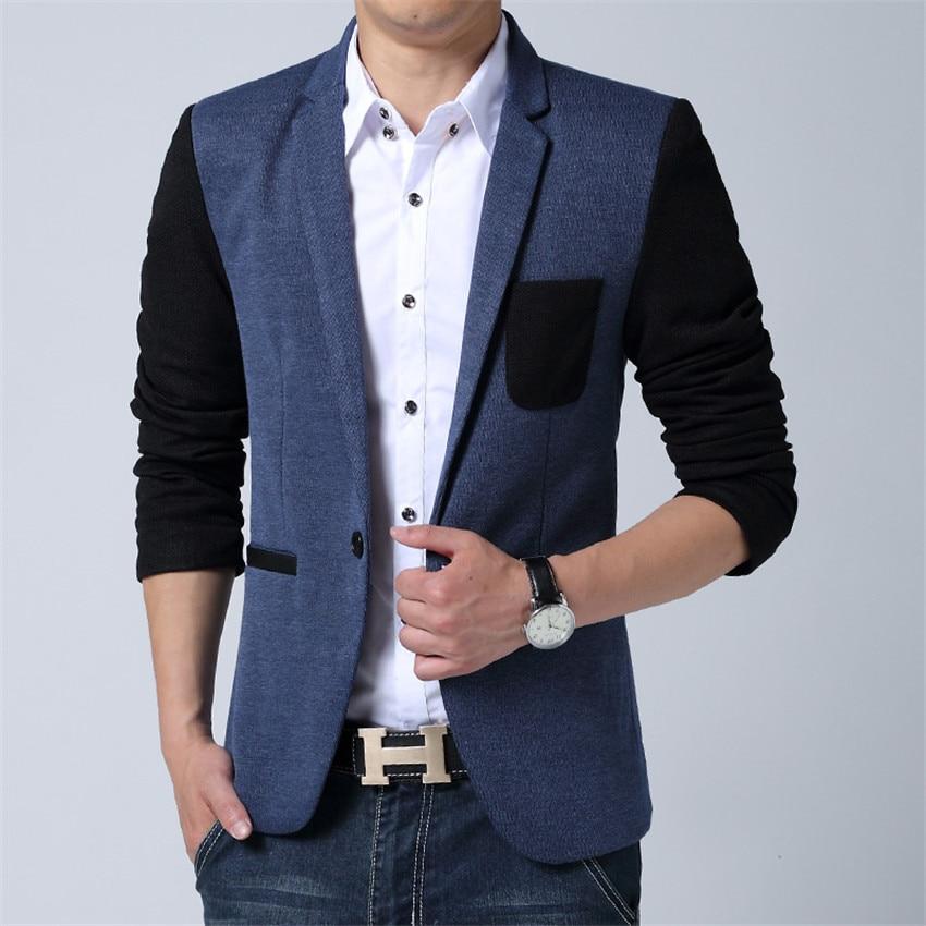 Compare Prices On Men Mandarin Collar Blazer- Online ...