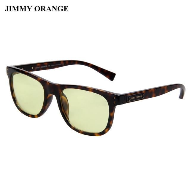 7bd5c62b42b9 JIMMY ORANGE Carl Zeiss Lenses Blue Light Blocking Square Gaming Glasses  Vintage Fashion Optical Computer Glasses for Women Men