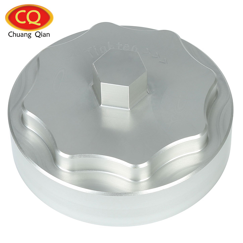 Chuang Qian Accessories Aluminum Fuel Filter Housing Cap for Cummins 6.7L Diesel Engine 1 8 aluminum alloy fuel filter for hsp 80118 golden