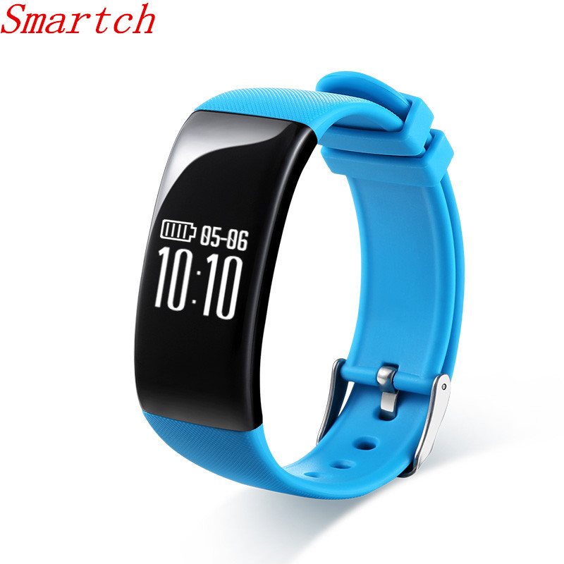 Smartch Temperature Monitoring X16 Smart Bracelet Wristband Heart Rate Monitor Fitness Sleep Tracker Smartband For iOS