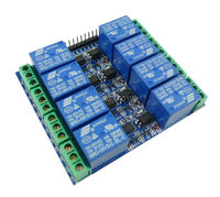 5V 10A 8 Channel Optical Coupling Isolation Relay Module With Optocouplers For Arduino 10PCS LOT