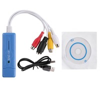 USB 2 0 Powerful Network 4 Channel Capture Card Real Time Surveillance Video Capture Card Compatible