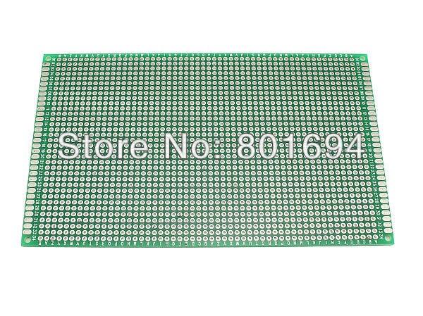 Double Side 9CM * 15CM Universal Experiment Matrix Circuit Board Blank Protoboard PCB Soldering