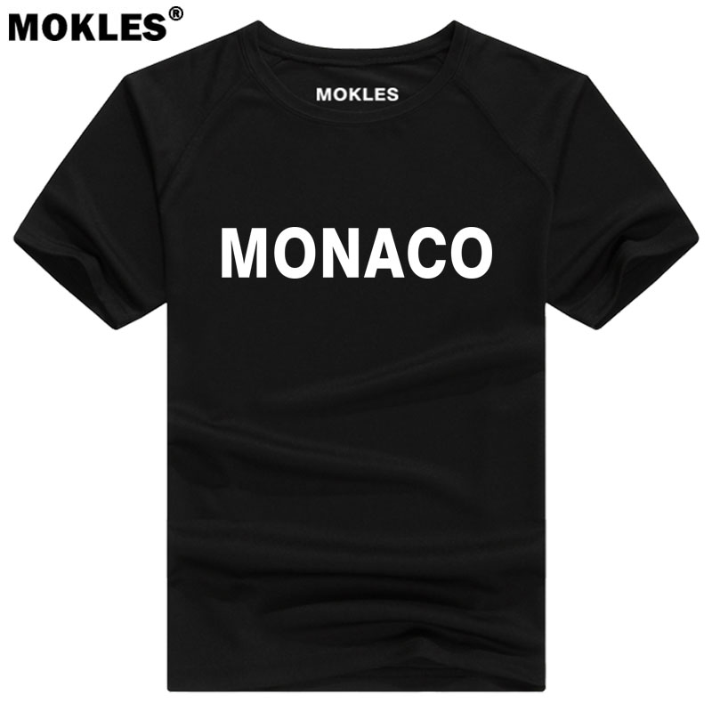 MONACO t shirt diy free custom made name number mco t-shirt nation flag mc french country college print photo logo text clothing