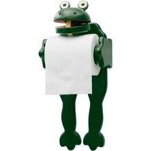 Inyard Original Funny Pepe Frog Shaped Tissue Holder Standing Toilet roll Paper Holder funny frog pen holder home decorative flush toilet pen holder as gift