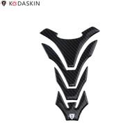 KODASKIN Tank Pad Stickers Protectors 3D Carbon Fiber fit for YAMAHA R1 R6 R3 MT09 MT07 MT03