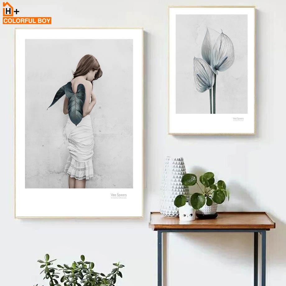 COLORFULBOY листівки квітів квіткові - Домашній декор